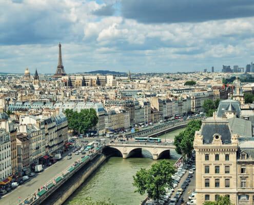 Panorama cession entreprise paris Ile de france