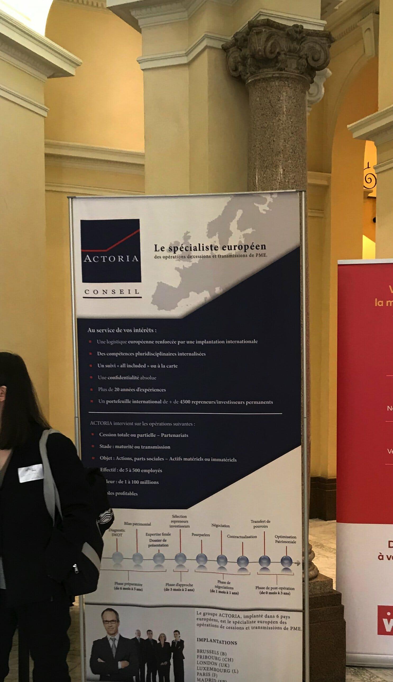 ACTORIA au salon de l'innovation BA06 (Nice) le 20 mars 2019